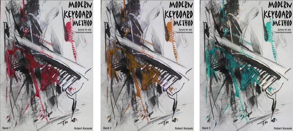 Modern Keyboard Method Lehrbuch-Serie für Tasteninstrumente
